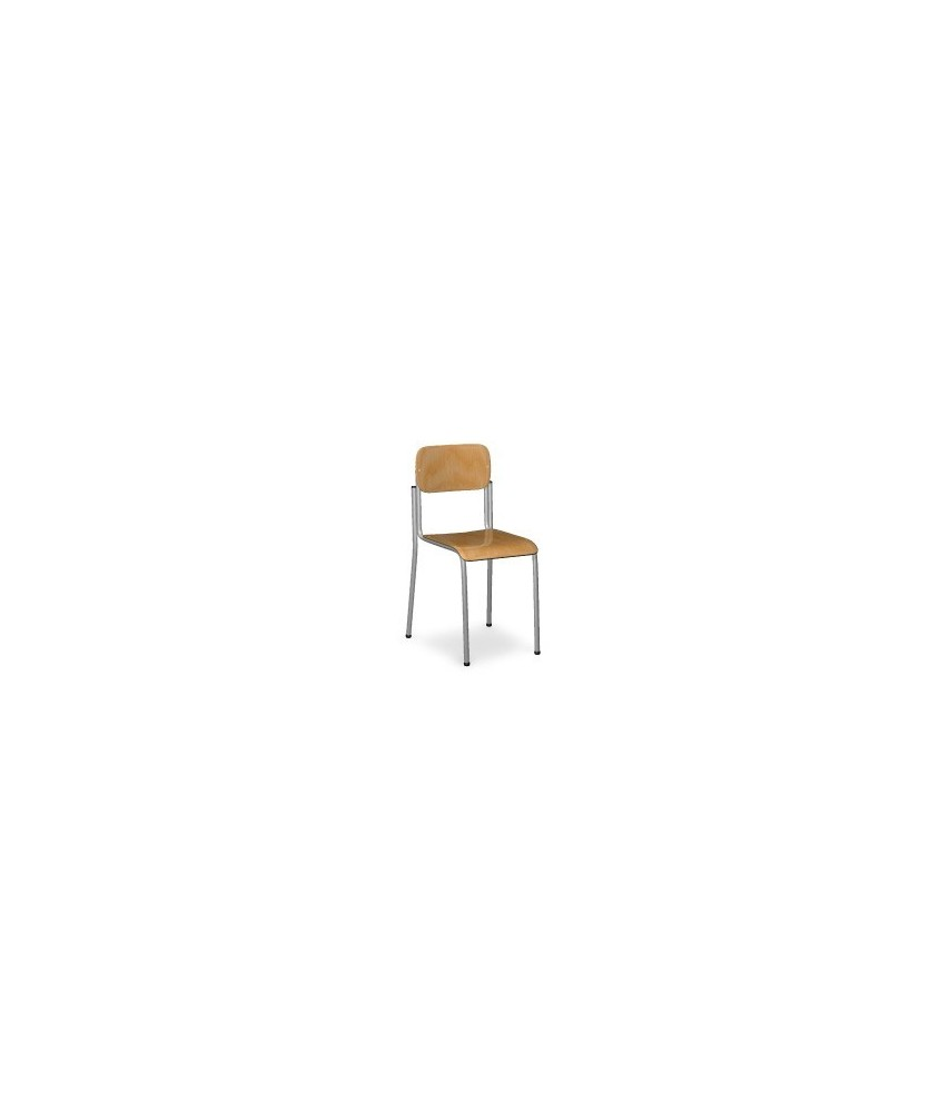 Sedia in faggio scuola elementare I° ciclo Dimensioni cm.35x35x35x38h